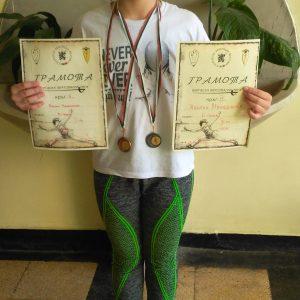 Наша ученичка с бронзов медал по фехтовка